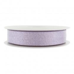 Biais lamé violet
