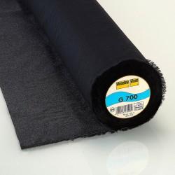 Vlieseline G700 - Entoilage tissé thermocollant noir
