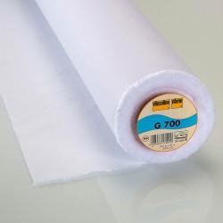 Vlieseline G700 - Interfodera in tessuto bianco