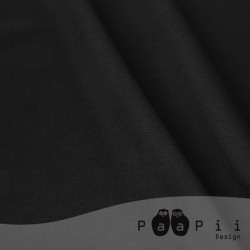 Paapii Design - Jersey organico nero