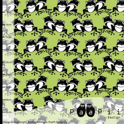 Paapii Design - Frogs apple green
