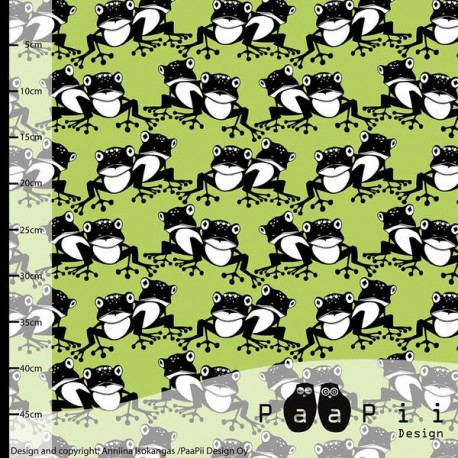 Paapii Design - Frogs apple green