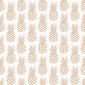 Gold pineapple cotton