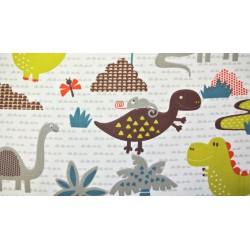 Coton dinosaures