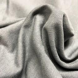 France Duval-Stalla - Jersey viscose pailleté gris
