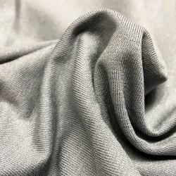 France Duval-Stalla - Viscose jersey grey glitter