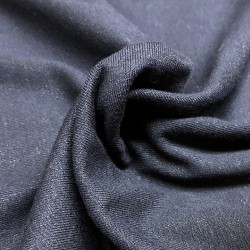 France Duval-Stalla - Viscose jersey glittery navy