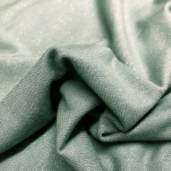 France Duval-Stalla - Viscose jersey glitter green water