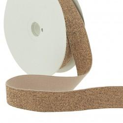 Elastique lurex cuivre - 20mm