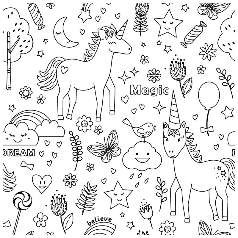 Coloriage Unicorn.Coloriage Magique Addition Coloriage Lol Unicorn