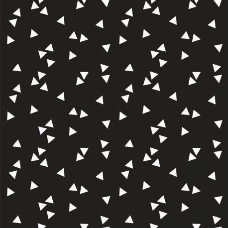 Coton triangles noirs