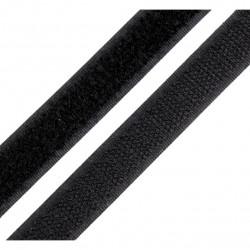 Velcro noir à coudre