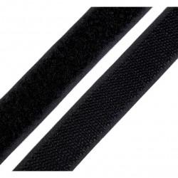 Velcro nero - 20mm