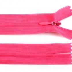 Chiusura a cerniera invisibile - rosa