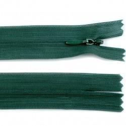 Chiusura a cerniera invisibile - verde