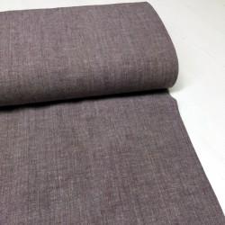 Coton-Lin violet - 100cm