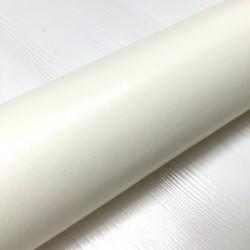 Simili cuir blanc - 80cm