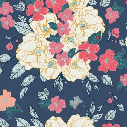 Art Gallery Fabrics - Flowery Chant Gentle