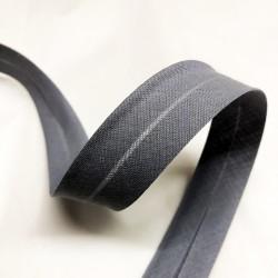 Biais uni gris