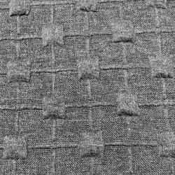 Maille jacquard gris - 65cm