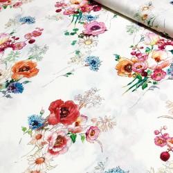 Viskose Jersey Blumen