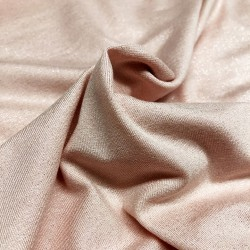 France Duval-Stalla - Viscose jersey pink glitter