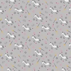 Jersey unicorns glitter