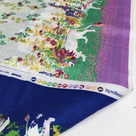 Kayo Horaguchi - Garland blue and purple