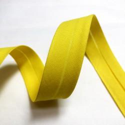 Biais uni jaune