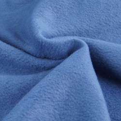 Fleece denim blue