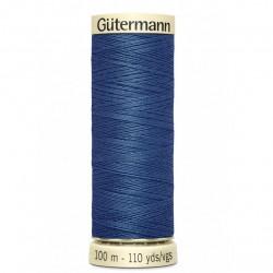 Fil Gütermann bleu (786)