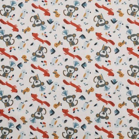 Monkeys-fox cotton