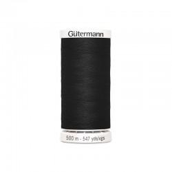 Fil Gütermann noir (000) - 500m