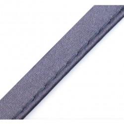 Piping satin grey - 10mm