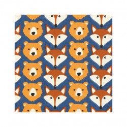Coton foxes and bears