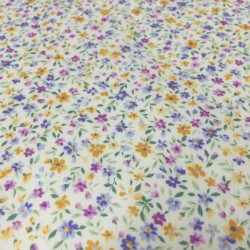 Sevenberry - Small multicolored flowers cambric