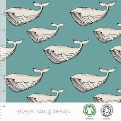 Elvelyckan Design - Whale aqua