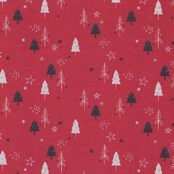 Christmas trees cotton