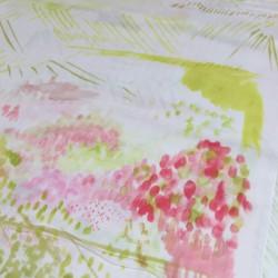 Nani Iro - Spectacle pink