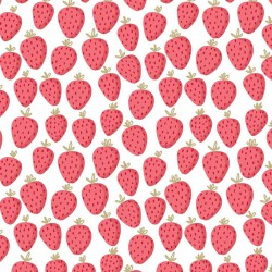 Sweat glitter strawberry