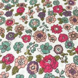 Cosmo - Stickerei rosa Blumen