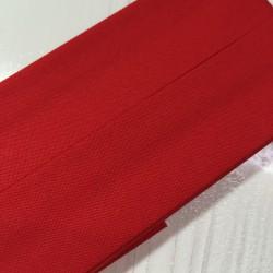 Bias tape plain red