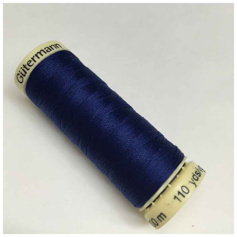 G 252 Termann Sewing Thread Blue 232 Je Suis 224 Croquer