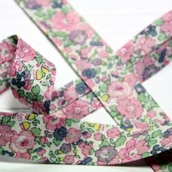Bias tape Liberty Betsy Ann pink