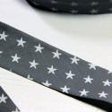 Biais France Duval-Stalla gris étoiles blanches