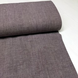 Coton-Lin violet