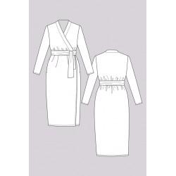 Named - Olivia Jersey Wrap Dress