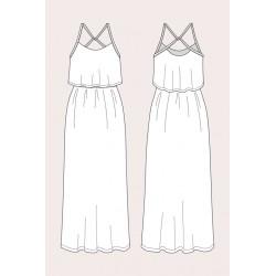 Named - Delphi Layered Maxi Dress
