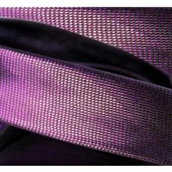 Biais lurex violet
