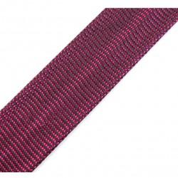 Bias tape lurex pink